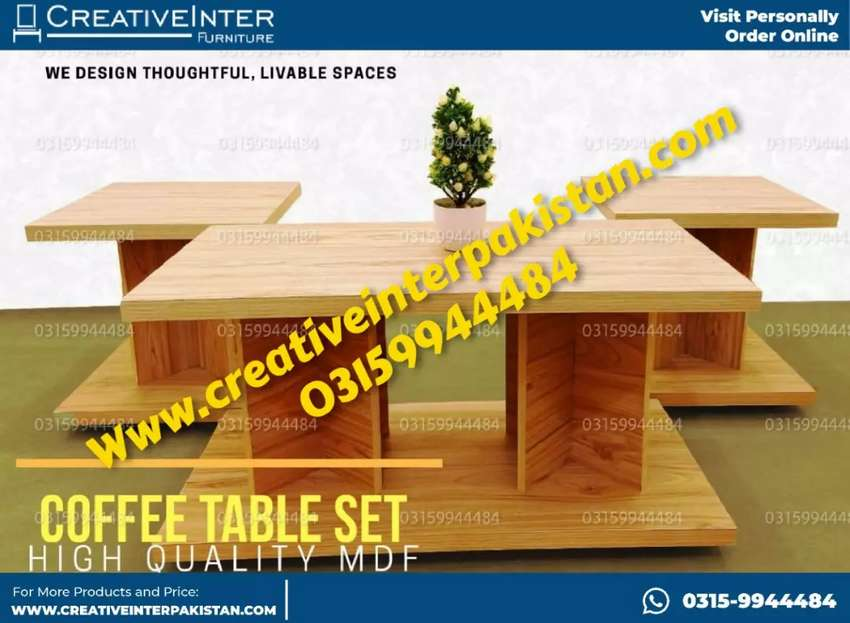 Centertable in econmical price Sofa set coffee chair dresing table 0