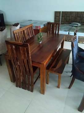 4 seater dining table in factory price