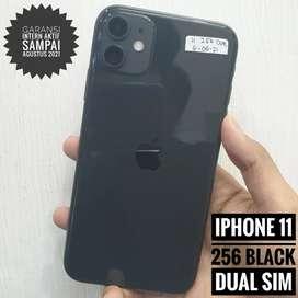 iPhone 11 256 Black, Dual Sim
