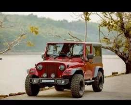 Modified new design look mahindra jeep