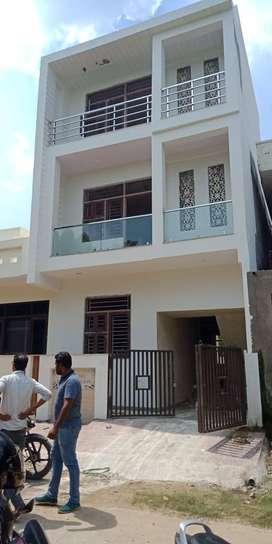 5bhk 140 sq yard villa 75lac at mansarovar