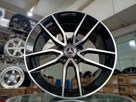 Velg Mercy Audi Mini Cooper Cabrio dll Ring 18x8/9 h5x112 ET45 Ready