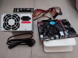 PSU 500W + Gigabyte GA-H110M GAMING 3 + processor INTEL G4560 LGA1151
