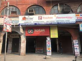 Basement commercial office space for sale in vikas puri near pvr.