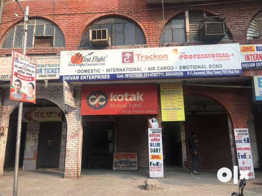 Basement commercial office space for sale in vikas puri near pvr. 0