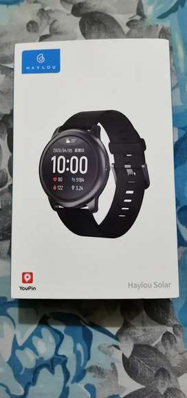 Haylou watch Model number LS05 1 smart watch mobile smartphone android