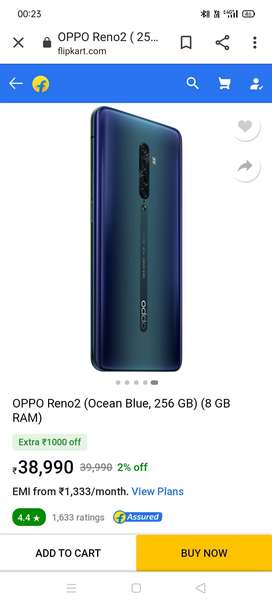 Oppo Reno 2...8-256..brand new phone box pack