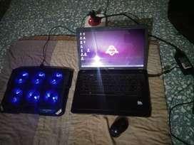 Hp compaq presario CQ57 laptop 6 gb ram