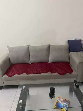 3 years old sofa and royaloak centre table