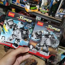 Lego big figure nonori iron monger dan whiplash