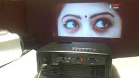 RDDD3 LED 3D 4K projector smart wifi youtube live tv usb hdmi 155 inch