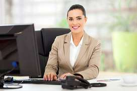 Female Receptionist with Telemarketing experience
