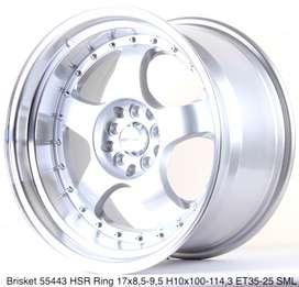 jualan BRISKET 55443 HSR R17X85/95 H10X100-114,3 ET35/25 SML