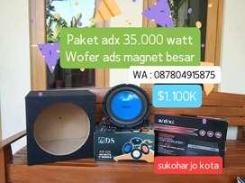 Paket audio power 35.000 watt & ads magnet besar