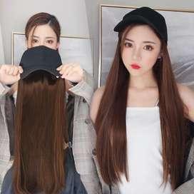 Wig Topi ( Rambut palsu )