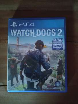 Kaset BD PS4 Watchdog's 2