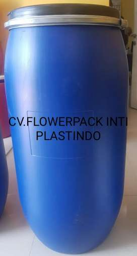 DRUM/TONG INDUSTRI BARU KAPASITAS 150LTR(BLUE COLOR),MINIM ORDER 100PC