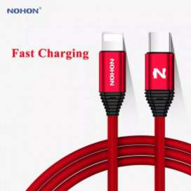 iPhone 11 Pro Type C Fast Charging Data Cable