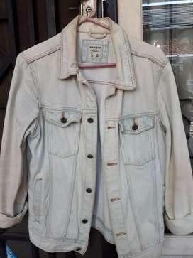 Jaket Jeans Pull and Bear ORIGINAL! size M luar