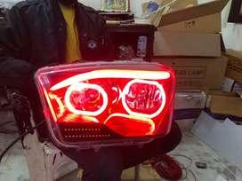 Mahindra Scorpio led headlights