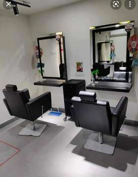 Salon and spa receptionist only female