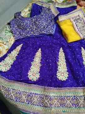 3piece saree or chaniya choli