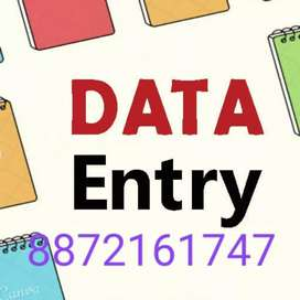 Part time job in data entry !!