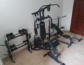 Complete Home Gym equipment for SALE!!!