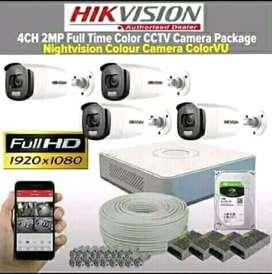 Paket hikvision 16 kamera cctv 1080P Area ~ Cipondoh