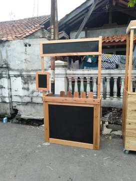 Booth Portable Gerobak Bongkar Pasang