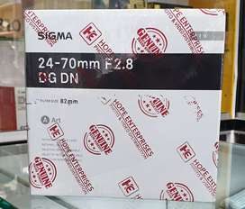 SIGMA 24-70mm F2.8 DG DN for SONY