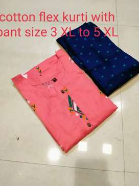 Kurti paint Size 3 XL TO 5XL