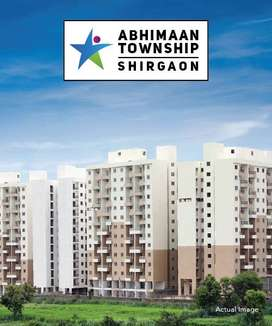 ready to move 1 BHK apartment in shirgaon Nr. Talegaon at 23.91 Lakh,