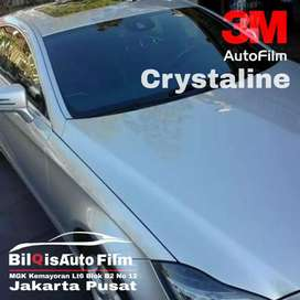Kaca film 3M Crystaline 70% Clear bening