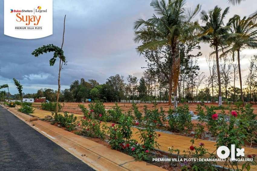 Premium gated community villa plots Devanahalli 0