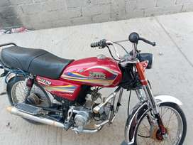 Hi speed bike for sale 15 model Rawalpindi number sab kagaz clear hay