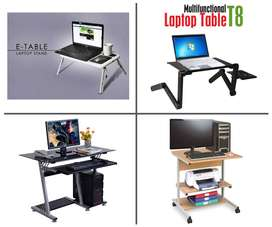 Computer table Laptop table and Mobile Stands Available