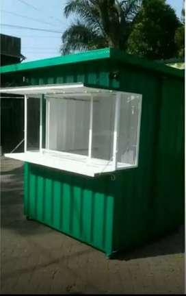 Rombong,gerobak,Booth,replika,semi kontainer unik