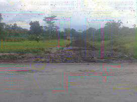 Tanah kavling lokasi strategis pinggir jalan raya