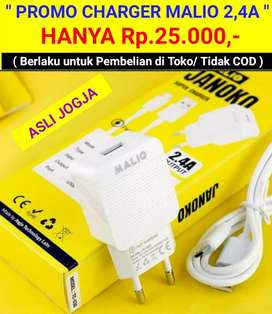 PROMO CHARGER MALIO ( 2,4A )