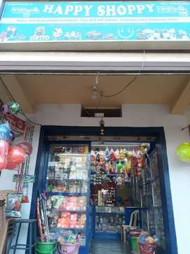 Fully furnished fancy with gift,toys and stationary shop for sale