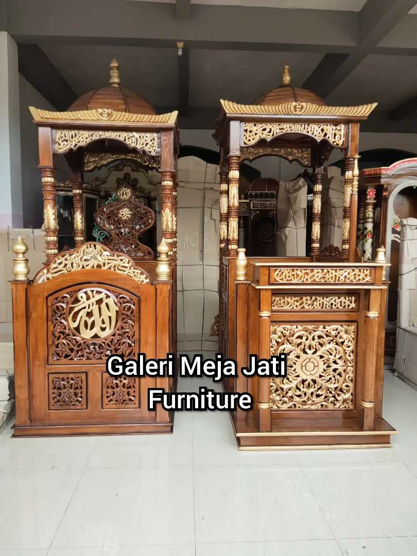 Mimbar masjid kuba E206 talk