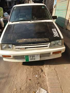 Aoa my care her sale in model1985 ac  allairem tyre new in multan city