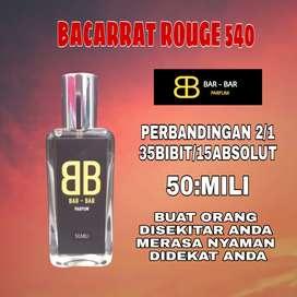 Parfum BACARRATROUGE540/ Parfum pria/Parfum wanita50ML/tahan seharian