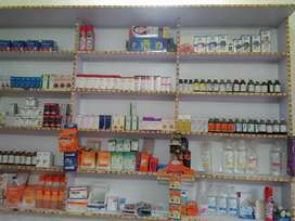 Medical store for sale..clinic k bilkul front p h running m h.