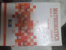 Rd sharma book class 12 volume 1 and 2
