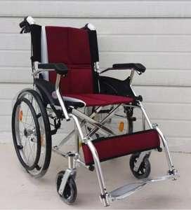 Kursi roda travell alumunium ban besar ringan