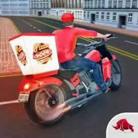 urgent need good rider / biker / filed delivery Boy
