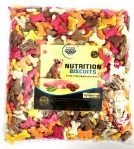 Dog biscuits ( fish+meat+ egg) flavour buy 1 get 1 free