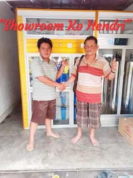 Pemasangan Paket Depot air minum galon isi ulang bonus filter KoHendri